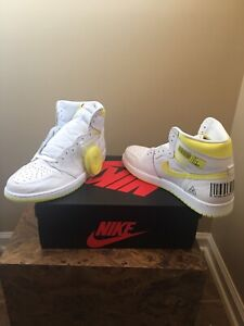 authorized site super cute quality design Details about Air Jordan 1 Retro High OG First Class Flight 555088 170  YELLOW 1st Nike Size 15