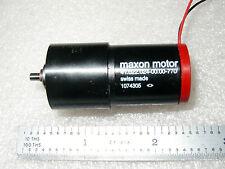 Maxon 12vdc 2 Watt 90 Rpm Precision Gear Motor 1 Pc