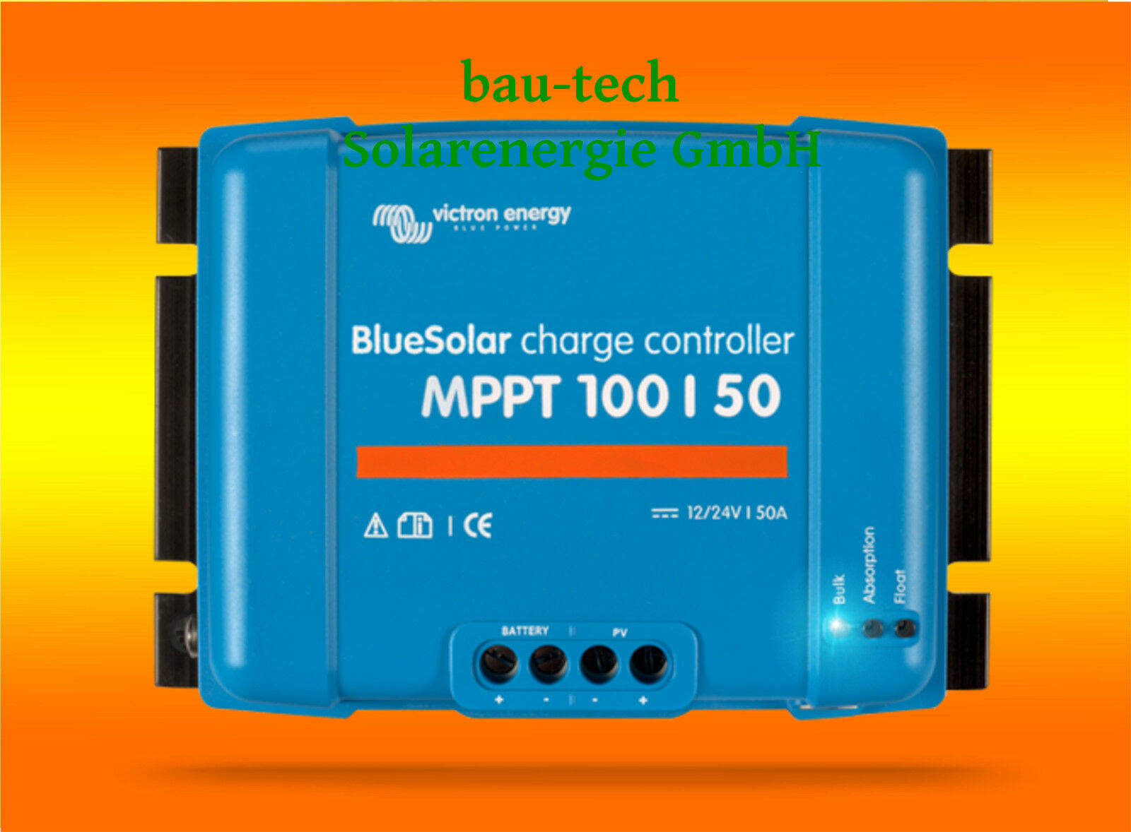 VICTRON Laderegler Energy BlauSolar MPPT 100/50 für 12V / 24V