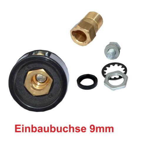 Kabelstecker Kabelbuchse Einbaubuchse 10-70mm² für Stecker Dorn 9-13 mm