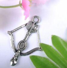 20pcs Tibet silver Butterfly Charm  Pendant  Jewelry Findings 16x15MM W148