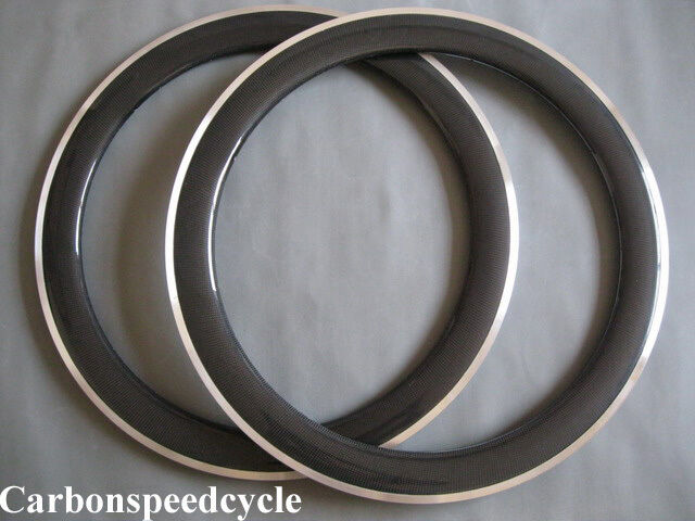 CSC 23mm width, 60mm clincher with Alloy brake surface  carbon road racing rim