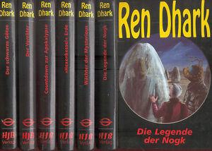 Kurt-Brand-Ren-Dhark-Konvolut-6-Sonderbaende-Buch-Ausgabe-HJB-Verlag-2000