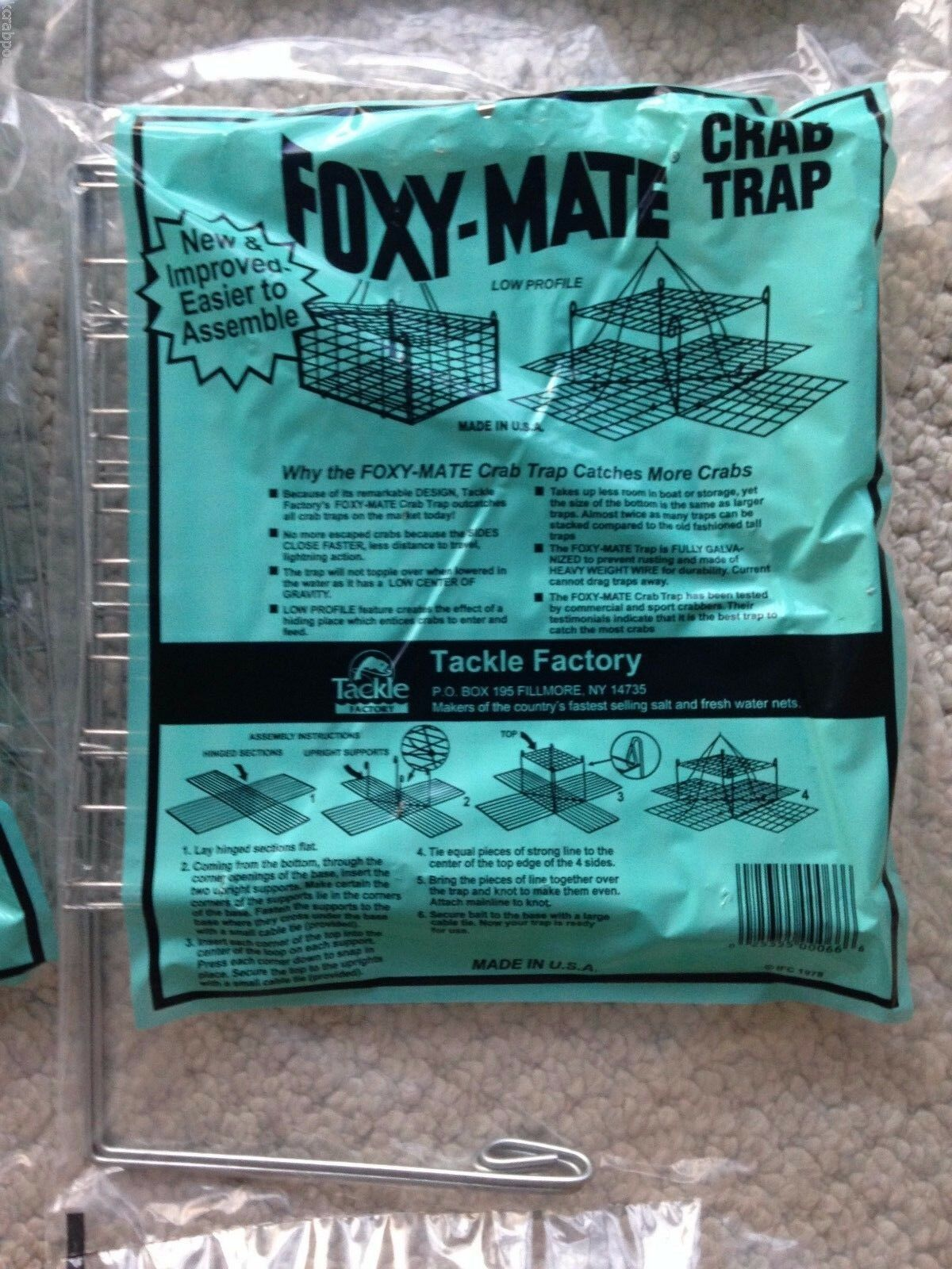 Foxy-Mate Low-Profile Crab Trap Model CASE (12)