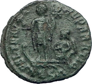 CONSTANTIUS-II-Constantine-the-Great-son-348AD-Ancient-Roman-Coin-Galley-i73415