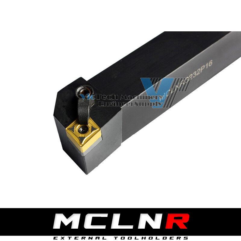 95°Carbide Tip CNC Turning Lathe Tool Holder MCLNR L1616H12 2020K12  2525M12