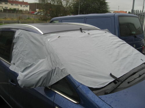 Mercedes SLK R171 04 on WINDSCREEN FROST ICE SNOW PROTECTOR MIRRORS COVER CAR
