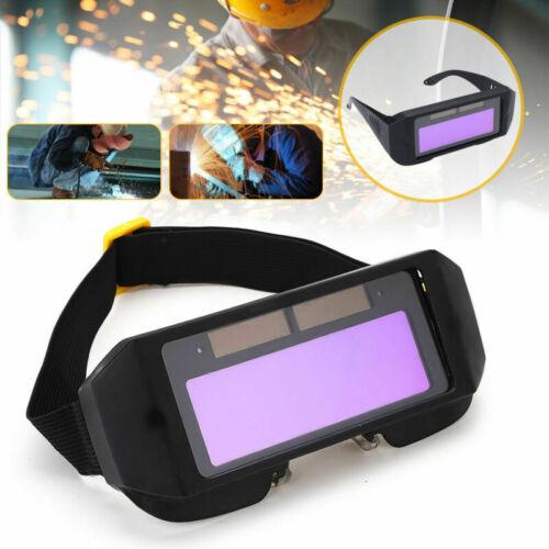 Welding Glasses LCD Protective Shield Soldering Anti Glare Welder Eye Goggles