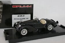 Brumm 1/43 - Alfa Romeo 2900 B 1938 Noire