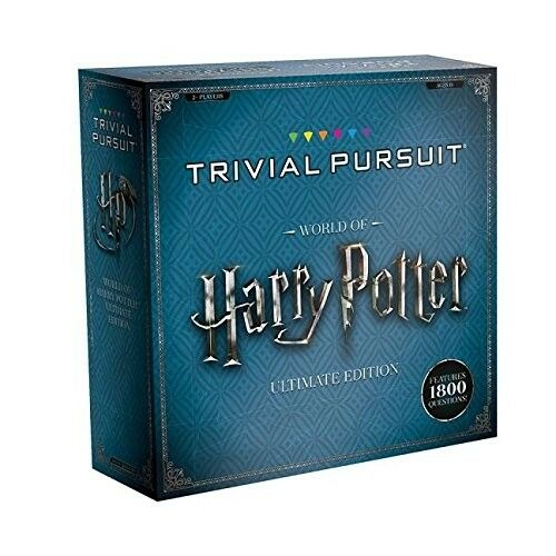 Trivial Pursuit Harry Potter Ultimate Edition Movie Trivia Board Game Family Fun