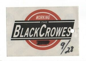 The-Black-Crowes-2001-Tour-Working-Crew-Satin-Backstage-Pass