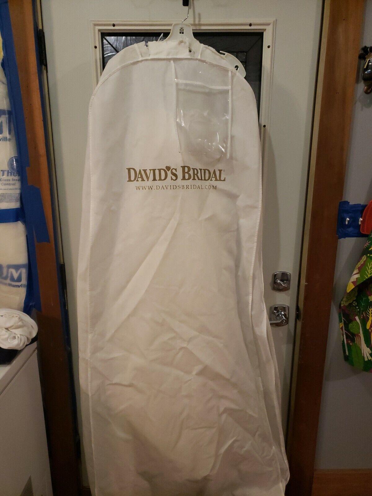 Nwt New Class Style Wedding Dress Size 6 Ivory Halter Davids Bridal Retail