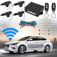 4 Door Power Central Lock Kit With2 Keyless Entry Car Remote Control Conversion