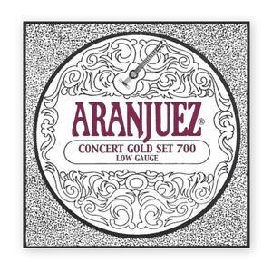 Jeu de cordes classique  Aranjuez   A700 Concert Gold - Tension basse