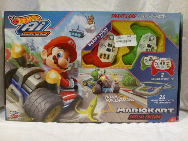 Mariokart sonderausgabe hot wheels ai intelligente rasse system starter - set 220 dollar