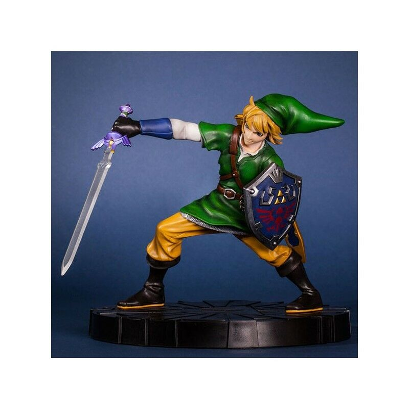 ZELDA -  Figurine Collector Link en mouveHommest 24cm  authentique en ligne
