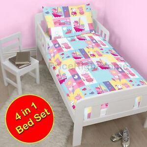 Peppa Pig Duvet & Duvet Cover, Pillow & Pillow Case Set ...