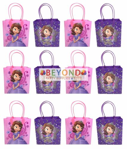 Party Favor Goodie Bags Gift Bags Birthday Party Sofia the First Goody Bags