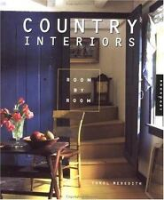 Country Interiors Room by Room by Carol Meredith (2000, Paperback)