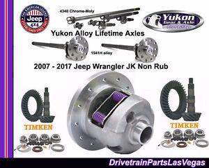 Details about Jeep Wrangler JK 2007 2017 Dana 44 30 - 4 88 Gears Posi Kits  Axles Yukon Timken