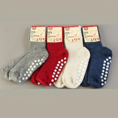 Organic Wool Children/'s GRIPPY NON-SLIP socks by Hirsch Natur Styles choice.