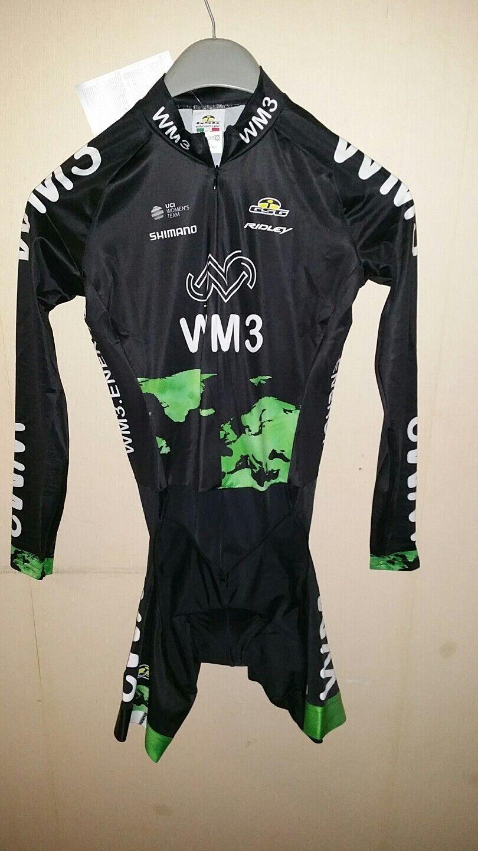Dutch Pro Team New Skinsuit wm3 speedsuit Cycle zeitfahranzug US M