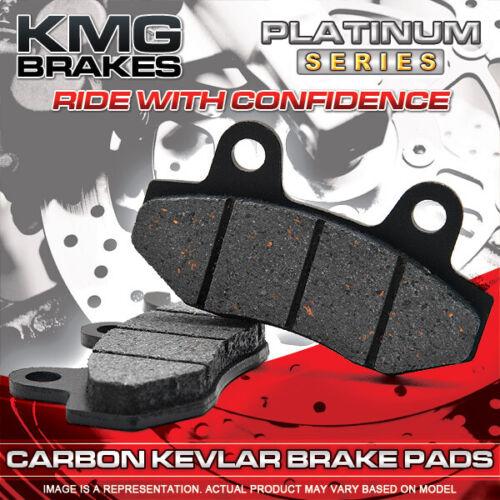 Rear Organic NAO Brake Pads For 2009-2011 Polaris 850 XP Sportsman Front
