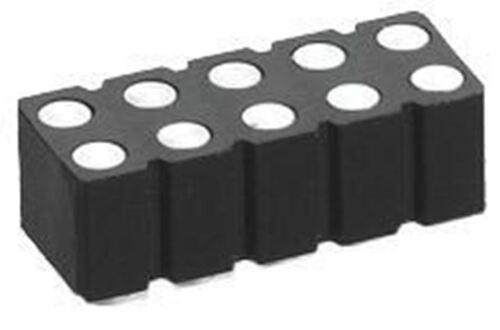 Preci-Dip 2.54mm 18 Way 2 Row Straight Surface Mount Male PCB Header Pin