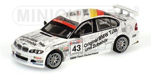 Bmw 320i Team Bmw Schnitzer Dirk Mueller Winner Race 2 Etcc Barcelona 2003 1 43
