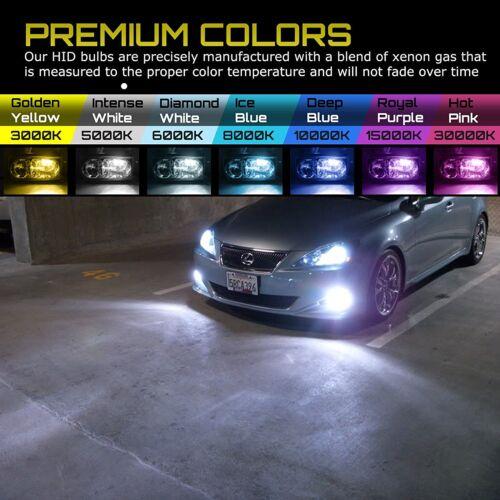 Mazda Protege5 2002-2003 HID Headlight Fog Light KIT Slim Ballast Xenon 6000K 8K