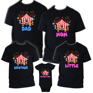 Image Is Loading Circus Family Birthday Shirts Boy Tee