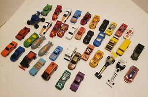 Lote-de-40-Vintage-Hot-Wheels-Coches-decada-de-1980-y-decada-de-1990