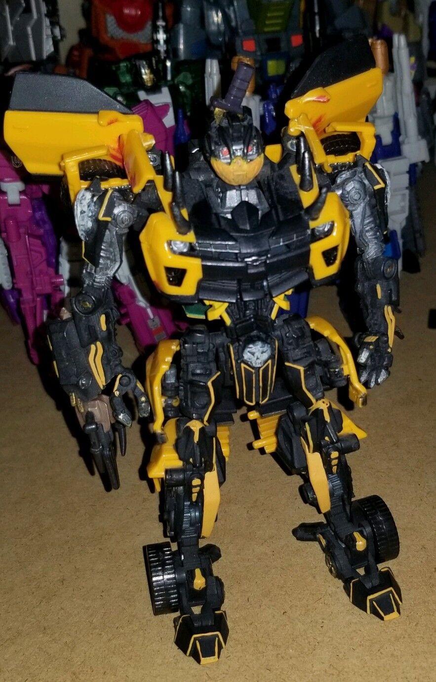 Transformers Personalizado Mortal Kombat Scorpion Sub-Zero Crojover