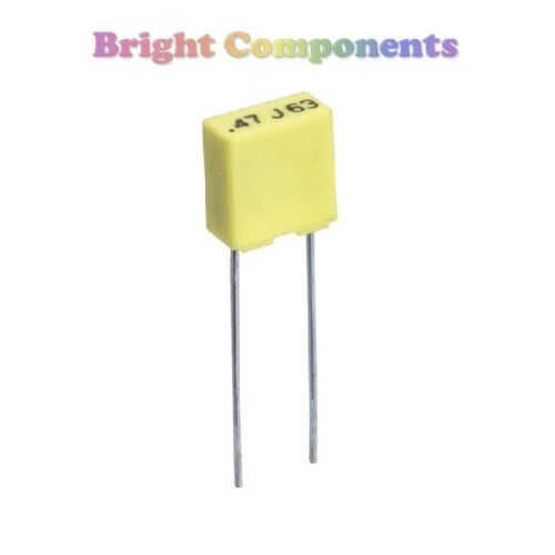 472 max 10x 4.7nF Mini Polyester Box Capacitor 100V - 1st CLASS POST