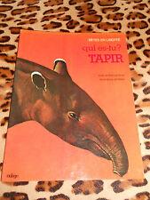 GIROS Patricia,NEMO : Qui es-tu? Tapir - Odège, 1973