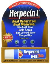 Herpecin L Lip Balm Stick for Cold Sores & Fever Blisters 0.1oz