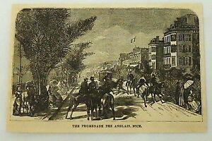 1881-Revista-Grabado-Promenade-Des-Anglais-Buenas-France