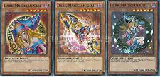 Dark Magician Girl Alternate Artwork Set - YGLD-ENB03 + YGLD-ENA04 + YLGD-ENC10