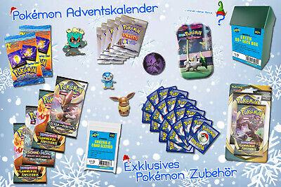 GttG Pokemon Adventskalender 2020 Weinachts-Kalender Kinder Geschenk-Set