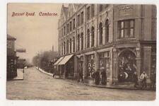 Basset Road Camborne Cornwall Vintage Postcard 685b