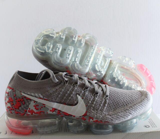 0f1706e07f407 Nike Women Air Vapormax Flyknit C Atmosphere Grey-pink Sz 10 Ah8448 ...
