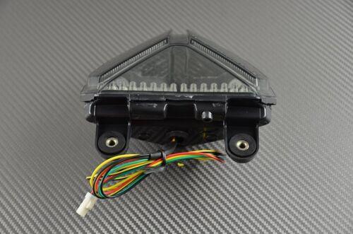 Feu arrière fumé clignotant intégré taillight ducati All SBK 848 1098 1198