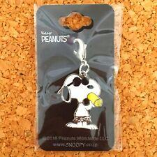 Peanuts Key Charm Collection Walk SNOOPY Keychain Chain