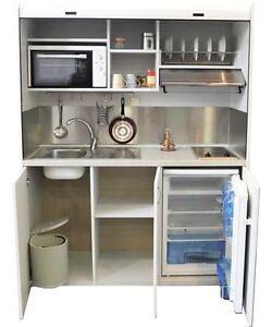 Mini cucina 160 cm completa di tutto ebay for Cucine complete