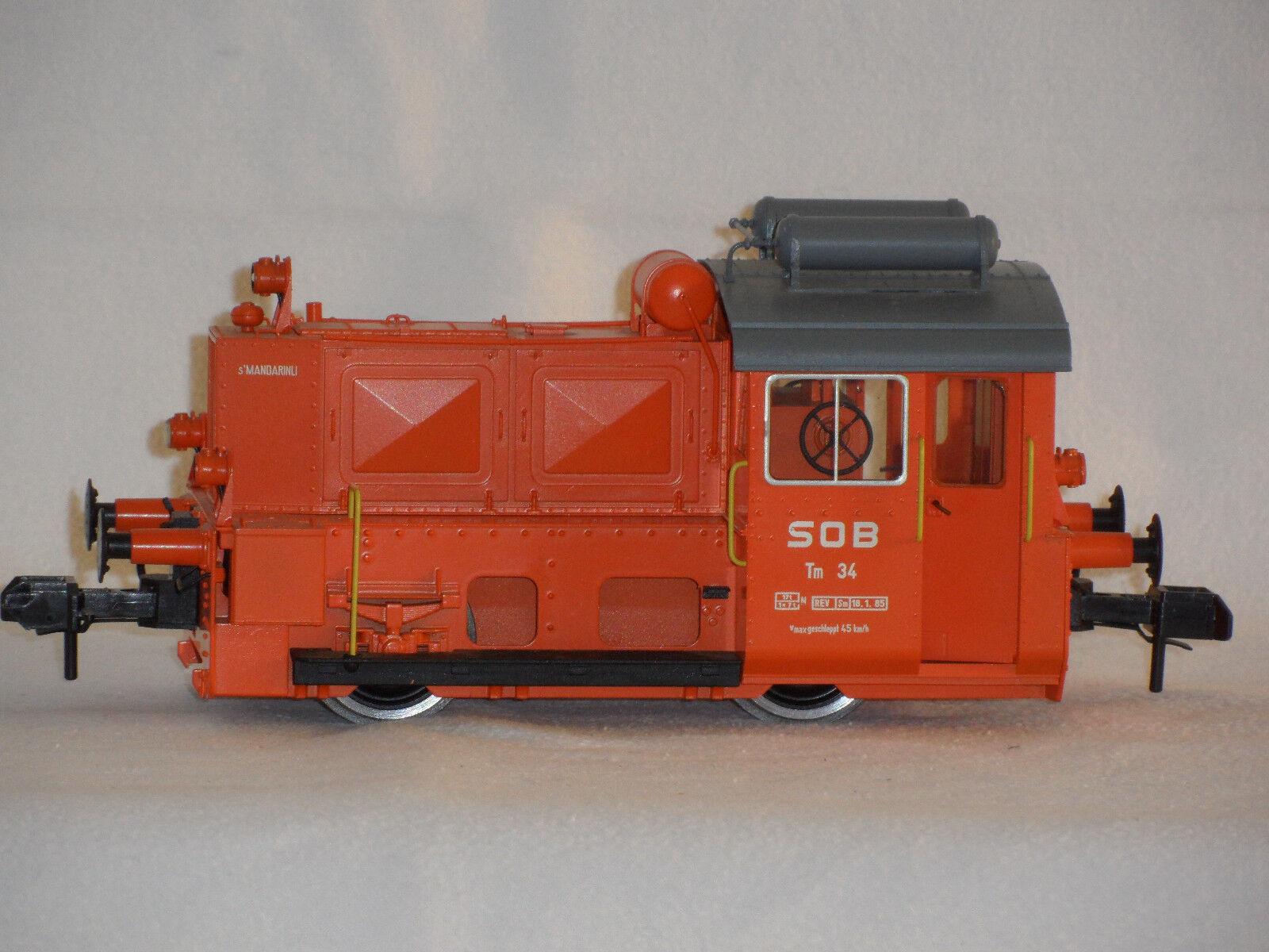Märklin Spur 1 - Diesellokomotive 5577, Köf II TM 34, Mandarinli SOB