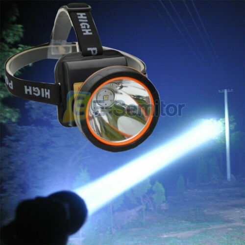 Super Bright 5000LM Head Torch Headlight USB Rechargeable LED Headlamp Fishing