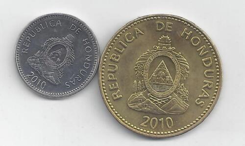 10 /& 20 CENTAVOS BOTH DATING 2010 2 NICE COINS from HONDURAS