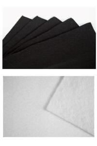 Feutrine-coupon-30x25cm-Noir-ou-Blanc-blanche-scrapbooking-tissu