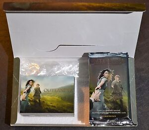 Cryptozoic-Outlander-Season-1-Complete-Base-Set-Box-and-Wrappers-Trading-Cards
