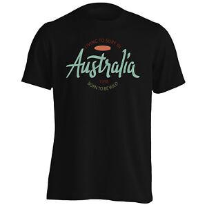 Australia-Surf-Vacances-Art-Tee-Shirt-Homme-Tank-Top-o516m